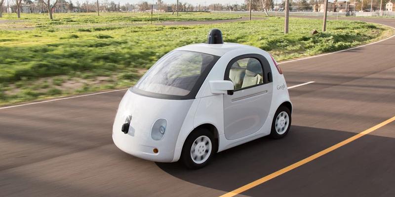 Nuevo coche de Google sin conductor