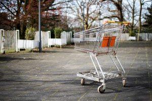 carrito abandonado de coste de una tienda online