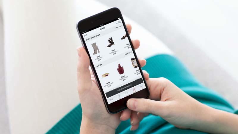 imagen de una aplicacion para escanear ropa e imprimirla