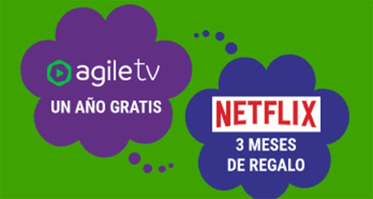 Imagen de publicidad de Agile Tv